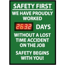 Safety First We Have Proudly... Digital Scoreboard (#DSB8)