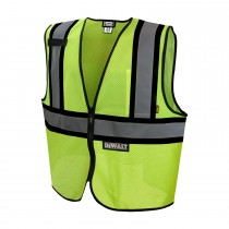 DeWalt Class 2 Economy Vest w/Contrasting Trim (#DSV221)