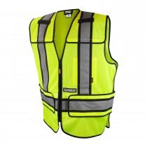 DeWalt Class 2 Adjustable Breakaway Mesh Vest (#DSV421)