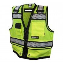 DeWalt Class 2 Heavy Duty Surveyor Vest (#DSV521)