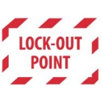 Lock-Out Point Machine Label (#EPA4AP)