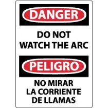 Danger Do Not Watch The Arc Spanish Sign (#ESD31)
