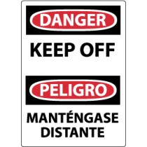 Danger Keep Off Spanish Sign (#ESD450)