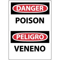 Danger Poison Spanish Sign (#ESD463)