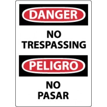 Danger No Trespassing Spanish Sign (#ESD81)