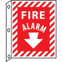Fire Alarm 2-Vue Sign (#FAFMA)