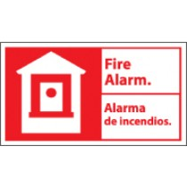 Fire Alarm Spanish Sign (#FBA2)