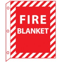 Fire Blanket 2-Vue Sign (#FBFMA)