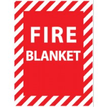 Fire Blanket Sign (#FBP)