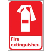 Fire Extinguisher Sign (#FGA3)