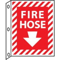 Fire Hose 2-Vue Sign (#FHFMA)