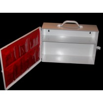 First Aid Cabinet, 2-shelf, empty (#723MTMSD)