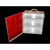 First Aid Cabinet, 3-shelf, empty (#712MTM)