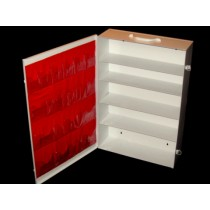 First Aid Cabinet, 5-shelf, empty (#738MTM)