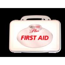 First Aid Kit, 10-unit (empty, plastic) (#209-003)