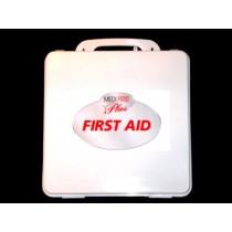 First Aid Kit, 24-unit (empty, plastic) (#209-007)