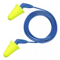 3M E-A--R Push-Ins SofTouch Earplugs, corded (#318-4001)