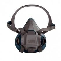3M™ Rugged Comfort Half Facepiece Reusable Respirator, Medium (#6502)
