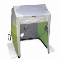 Deluxe Work Tent, 6' x 6' x 6.5', 2 doors (#9402-66)