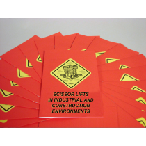 Scissor Lifts in Industrial and Construction Environments Booklet (#B0001720EX)