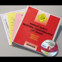 Forklift Safety: Industrial Counterbalance Lift Trucks DVD Program (#V0002649EO)