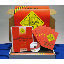 Forklift Safety: Industrial Counterbalance Lift Trucks DVD Kit (#K0002649EO)
