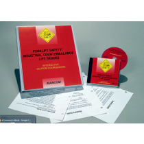 Forklift Safety: Industrial Counterbalance Lift Trucks Interactive CD (#C000264ED)