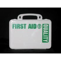 First Aid Kit, 16-unit (empty, plastic) (#209-006)