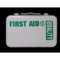 First Aid Kit, 10-unit (empty, metal) (#209-024)