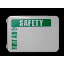 First Aid Kit, 16-unit (empty, metal) (#209-025)