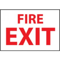 Fire Exit Sign (#FX120)