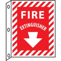 Fire Extinguisher 2-Vue Sign (#FXFMA)
