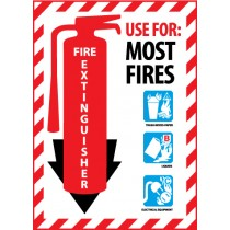 Fire Extinguisher Class Marker (#FXPMABC)