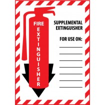 Fire Extinguisher Class Marker (#FXPMSE)