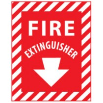 Fire Extinguisher Sign (#FXPS)