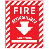 Fire Extinguisher Sign (#FXPSEL)