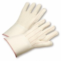Nap-Out Quilted Cotton Blend Double-Palm Gloves (#G81SI)