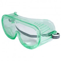 Perforated Goggle, clear anti-fog (#GGP111ID)