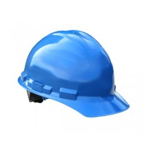 Granite Cap Style Hard Hat, Blue, 4 point pinlock (#GHP4-BLUE)