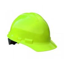 Granite Cap Style Hard Hat, Hi Viz Green, 4 point pinlock (#GHP4-GREEN-HI-VIZ)