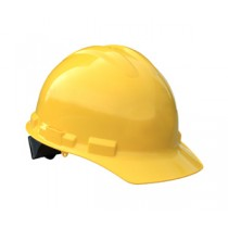 Granite Cap Style Hard Hat, Yellow, 4 point pinlock (#GHP4-YELLOW)