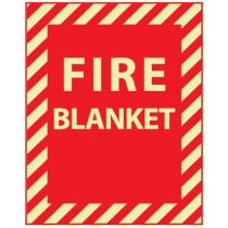 Fire Blanket Glow Sign (#GL147)