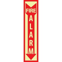 Fire Alarm Glow Sign (#GL172)