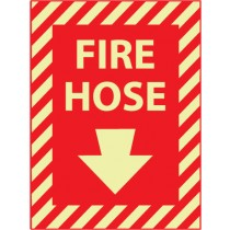 Fire Hose Glow Sign (#GL18)