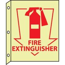 Fire Extinguisher Glow Sign (#GLTV12)