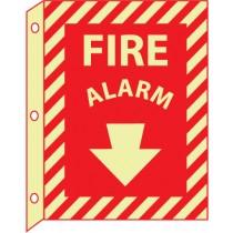 Fire Alarm Glow Sign (#GLTV18)