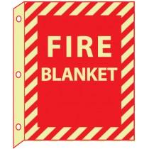 Fire Blanket Glow Sign (#GLTV19)