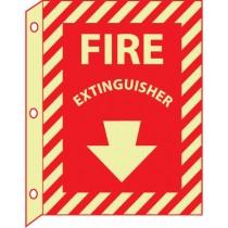 Fire Extinguisher Glow Sign (#GLTV20)