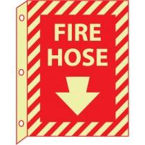 Fire Hose Glow Sign (#GLTV21)