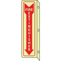 Fire Extinguisher Glow Sign (#GLTV43)
